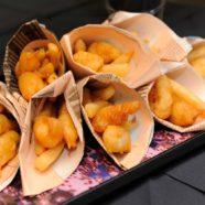 Oven Chips w/ Easy Preserved Lemon Aioli