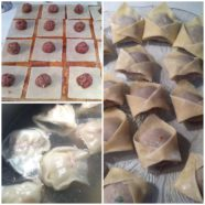 Wonton Soup w/ Asian Mushrooms & Bok Choy