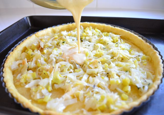 Leek & Goats Cheese Tart4