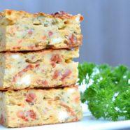 Zucchini Chorizo & Feta Slice