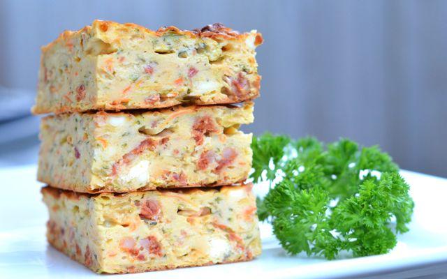 Zucchini chorizo feta slice main1