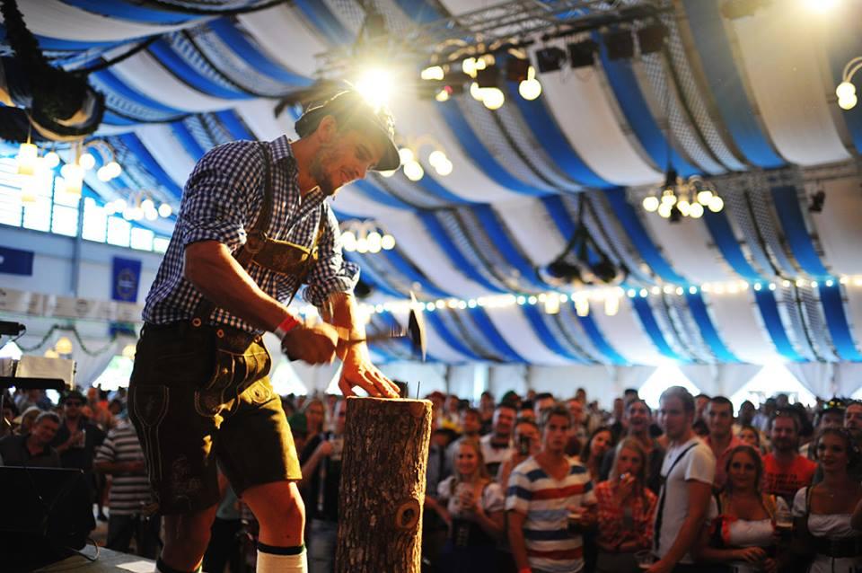 Oktoberfest Brisbane 2013 Bavarian Strongman1