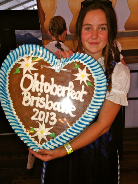 Oktoberfest Brisbane 2013 Miss Foodie01
