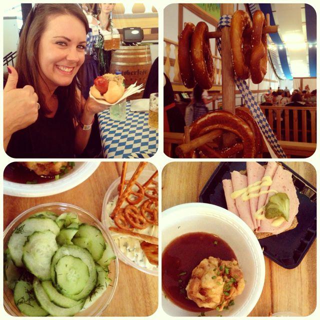 Oktoberfest Brisbane 2013 Miss Foodie06