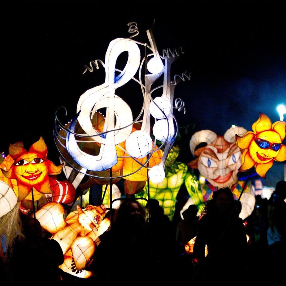 Racecourse Road Winter Lights Festival 2