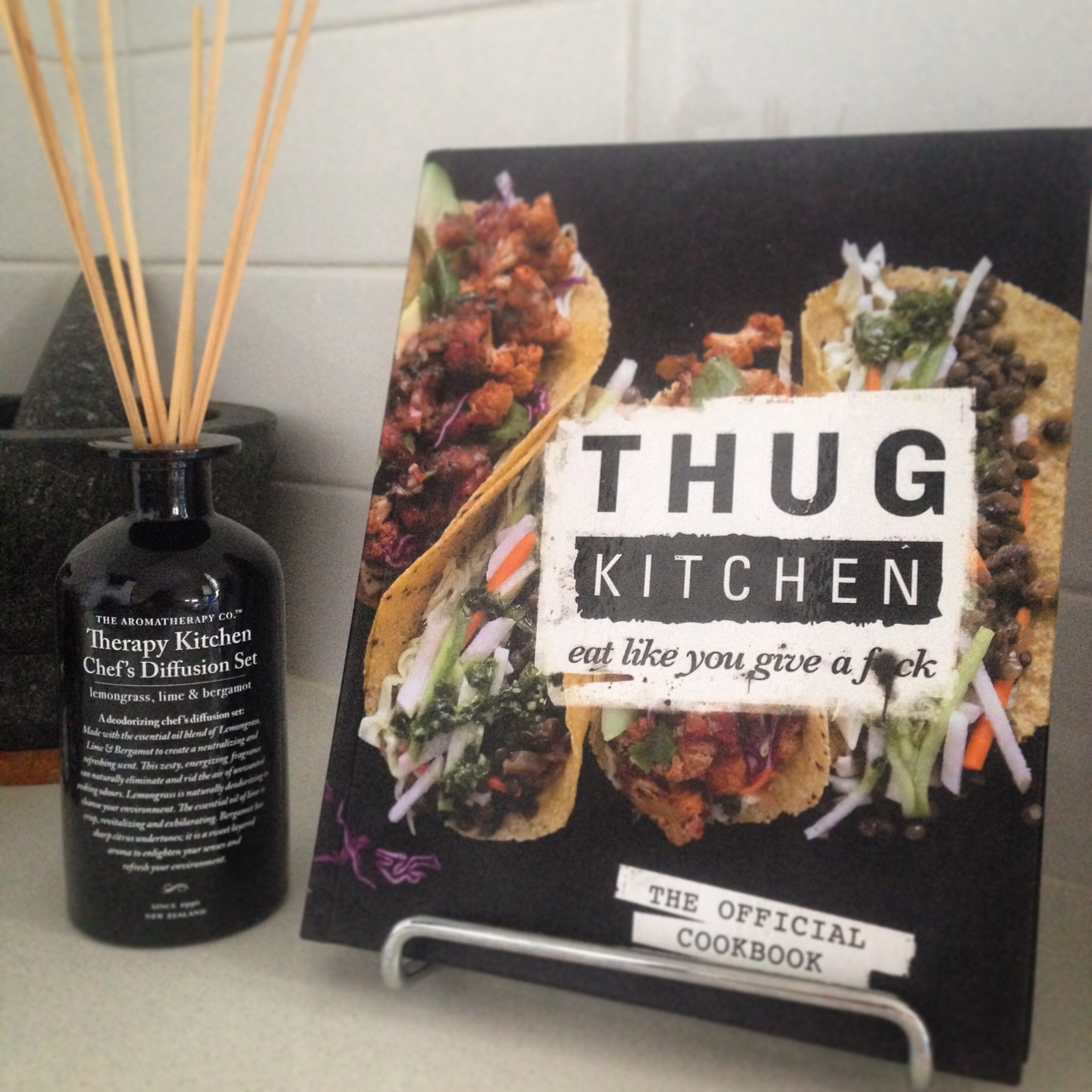 Thug Kitchen started as a blog in 2012. Authors Michelle Davis and
