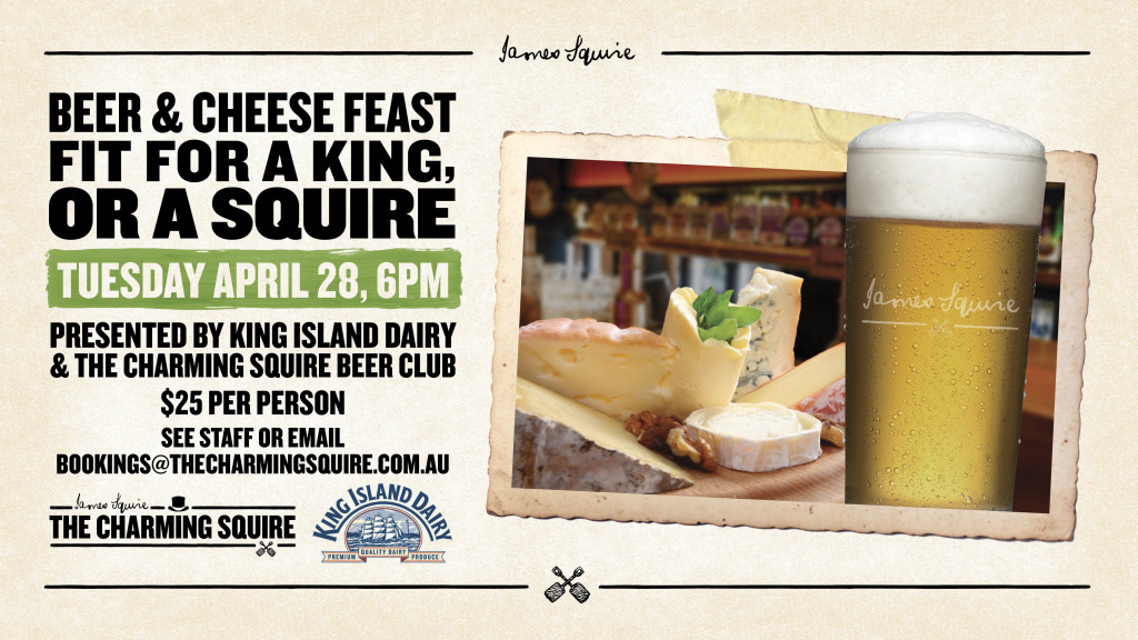 the Charming Squire Beer Club - Miss Foodie Whats On