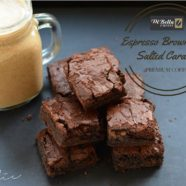 Espresso Brownies with Salted Caramel