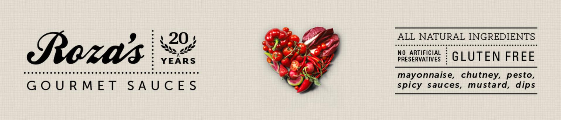 Rozas Gourmet Sauces Banner - Miss Foodie
