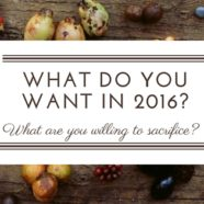 What do you want in 2016?