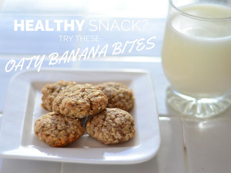 oat banana bites