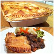 Steak, Rosemary & Mushroom Pie