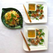 Railway Station Chicken w/ Green Papaya & Peanut Salad