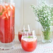 Plum Ice Tea
