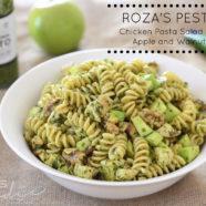 Pesto Chicken Pasta w Apple & Walnuts