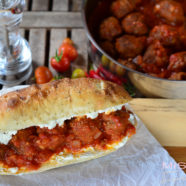 Meatball Sandwich AKA The Albondigas Sandwich