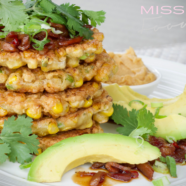 Miso Corn Fritters